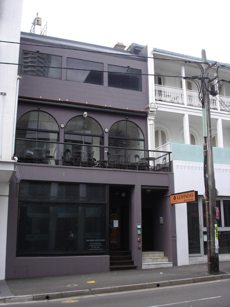Govindas Restaurant in Darlinghurst