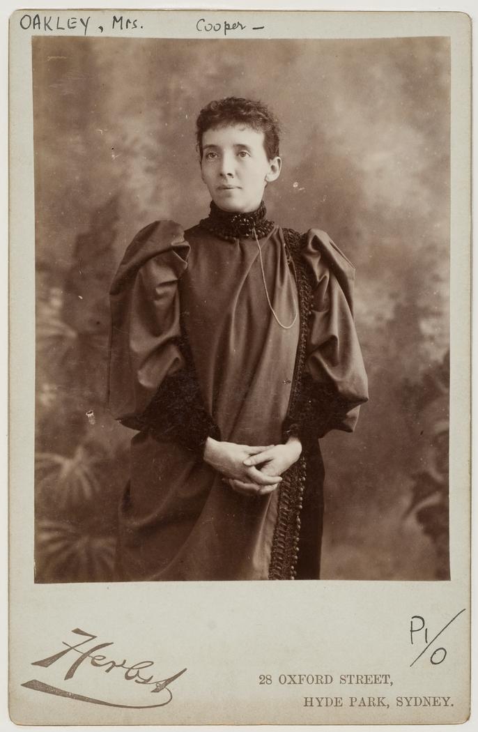 Mrs Cooper Oakley, 1893